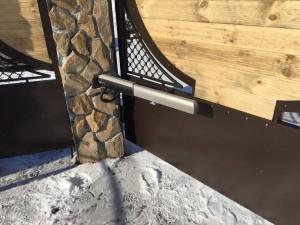 установка автоматических ворот в тюмени